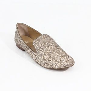Banana Republic Women Loafer Glitter Shoes 11 BR